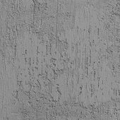 Bright Grey Grunge Plastered Wall Stucco Texture, Vertical Detailed Natural Scratch Grungy Gray Coar poster