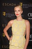 LOS ANGELES - JAN 14:  Charlize Theron arrives at  the BAFTA Award Season Tea Party 2012 at Four Sea