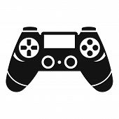 Entertainment Gamepad Icon. Simple Illustration Of Entertainment Gamepad Vector Icon For Web Design  poster