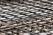 Using Steel Wire For Securing Steel Bars With Wire Rod For Reinforcement Of Concrete Slab Or Focus T poster