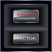 Abstract background black and grey, vector illustration.