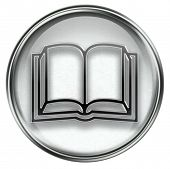 Book Icon Grey