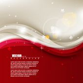 eps10 vector Christmas wave elements design