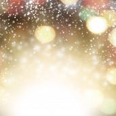 foto of toast  - Abstract christmas background - JPG