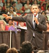 Barack Obama Outstretched