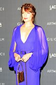 LOS ANGELES, CA - OCT 27: Florence Welch at the LACMA 2012 Art + Film Gala at LACMA on October 27, 2