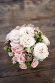 Wedding Bouquet of Peonies