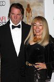 LOS ANGELES - 2 de NOV: Don Maxwell, Terry Moore llega a la AFI Film Festival 2012