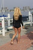 MARINA DEL REY, CA - NOV 2: Pam Anderson at the Sea Shepard's Operation Zero Tolerance Antarctic Wha