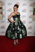 LOS ANGELES - NOV 3:  Amy Adams arrives at the AFI Film Festival 2012