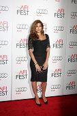LOS ANGELES - NOV 3:  Eva Mendes arrives at the AFI Film Festival 2012