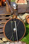 Helmet Two Swords