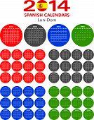 Calendar 2014 Spanish.