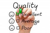 Excellent Quality Evaluation