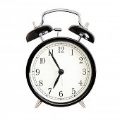 picture of analog clock  - Alarm clocks  - JPG