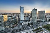 Sundown Over Warsaw, Poland