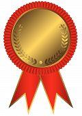0 Gold Red Medal.