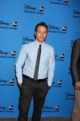 LOS ANGELES - 4 de ago: Seamus Dever chega na festa no Beverly Hilton Ho TCA ABC verão 2013