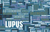 foto of lupus  - Lupus Disease Concept as a Medical Condition - JPG