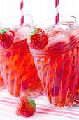 Red Strawberry Juice