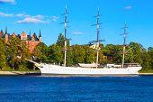 Historical ship 'AF Chapman'' in Stockholm, Sweden