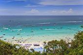 beach at Koh Larn island Pattaya