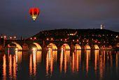 The Charles Bridge In Prague City