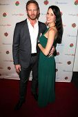 LOS ANGELES - JAN 5:  Ian Ziering, Erin Kristine Ludwig at the BCS National Championship Party at Pa