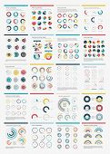 Infographic Elements.big Chart Set Icon.