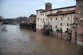 Flood Tiber River