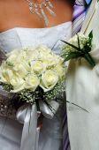 Groom And Flowers