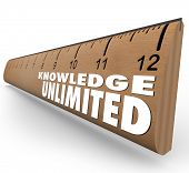 Knowledge Unlimited Ruler Education Skills Learning