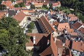 View of Cesky Krumlov,Prague, Czech