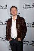 LOS ANGELES - JAN 17:  Christian Slater at the Disney-ABC Television Group 2014 Winter Press Tour Pa