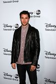 LOS ANGELES - JAN 17:  Joshua Bowman at the Disney-ABC Television Group 2014 Winter Press Tour Party