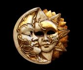 Mask, The Moon And The Sun