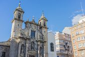 Saint George Church In A Coruna, Galicia, Spain