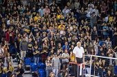 IRVINE, CA - JANUARY 17: University of California Irvine fans attend the men's volleyball match with