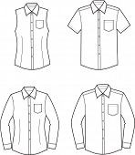 picture of denim wear  - Vector illustration - JPG