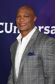 LOS ANGELES - JAN 19:  Eddie George at the NBC TCA Winter 2014 Press Tour at Langham Huntington Hote