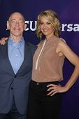 LOS ANGELES - JAN 19:  JK Simmons, Jenna Elfman at the NBC TCA Winter 2014 Press Tour at Langham Hun