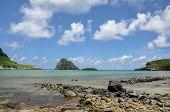 Beach Of Atalaia On Fernando De Noronha Island, Pernambuco (brazil)