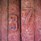Door With Figures