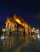 foto of reign  - There is royal temple at the Giant Swing in Bangkok in Thailand Wat Suthat is a temple of Rama 8 reign The Chapel of Wat Suthat on March 12 2014 Bangkok Thailand - JPG