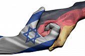 Handshake Between Israel And Germany
