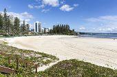 Rainbow Bay beach, Gold Coast Australia