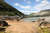 Beautiful Beach in Cantabria, Spain