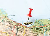 Samsun ,turkey  Map