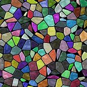 Glass Mosaic Seamless Generated Hires Texture