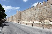 City Walls Of Avila, Spain